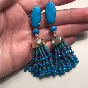 Kendra Scott beaded earrings